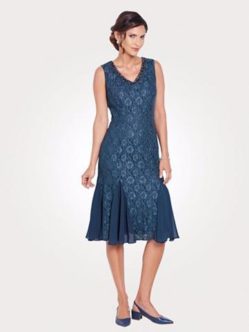 MONA Nėriniuota suknelė su papuošimai