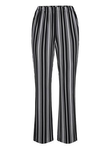 MIAMODA Kelnės su streckendem dryžiais