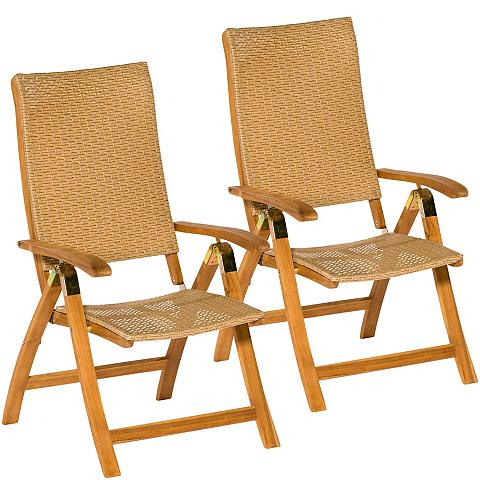 MERXX Poilsio kėdė »Capri« (2 vnt. rinkinys)...