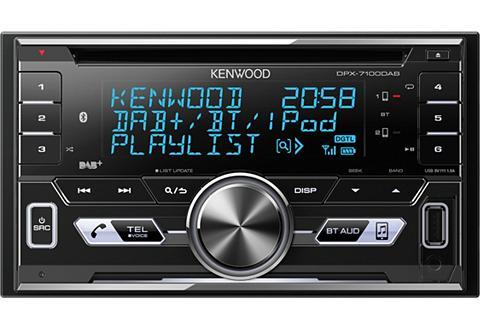 KENWOOD 2-DIN Digital Media Imtuvas su DAB+ BL...