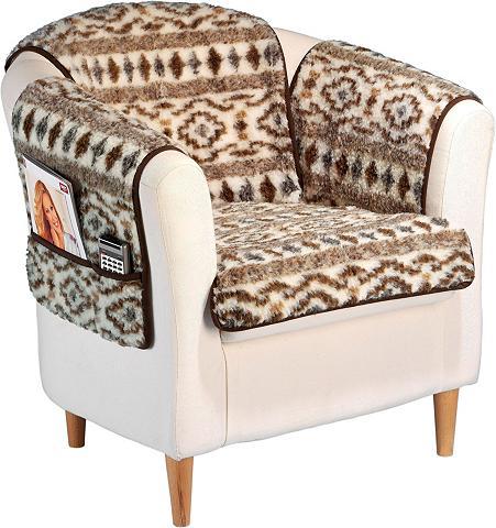Fotelio užtiesalas iš grynos Schafschu...