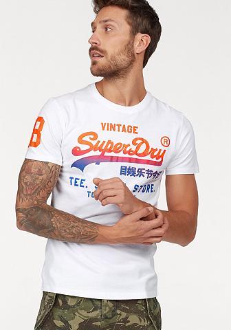 SUPERDRY Marškinėliai Marškinėliai SHOP FADE TE...