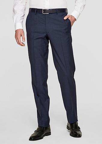 S.OLIVER BLACK LABEL S.OBROKER Regular: Kostiuminės kelnės