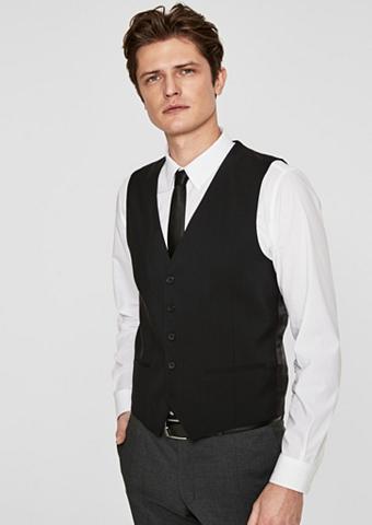 S.OLIVER BLACK LABEL Elegantiškas kostiuminė liemenė iš vil...