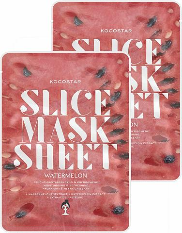 KOCOSTAR »Slice Mask Sheet Watermelon« feuchtig...