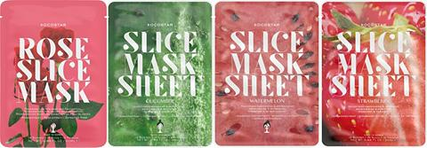KOCOSTAR »Slice Mask Sheet rinkinys« Gesichtsma...