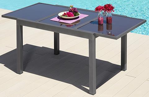Sodo stalas »Amalfi« Aliumininis išskl...