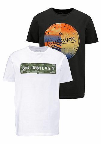 QUIKSILVER Marškinėliai (Rinkinys 2 vnt.)