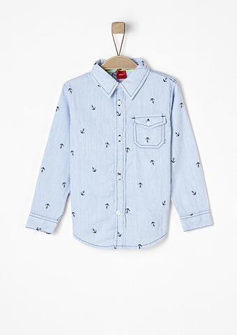 S.OLIVER RED LABEL JUNIOR Įliemenuotas: dryžuoti marškiniai su A...