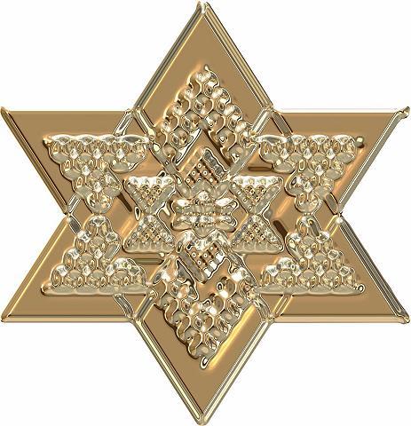 Sienos lipdukai »Metallic Star Gold« i...