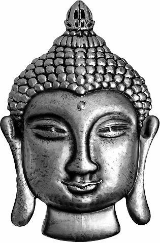 Wall-Art Wandtattoo »Metallic Buddha«