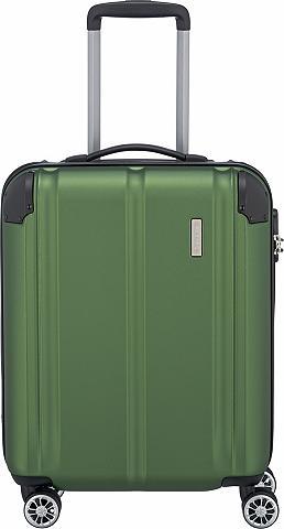 TRAVELITE Plastikinis lagaminas ant ratukų su 4 ...