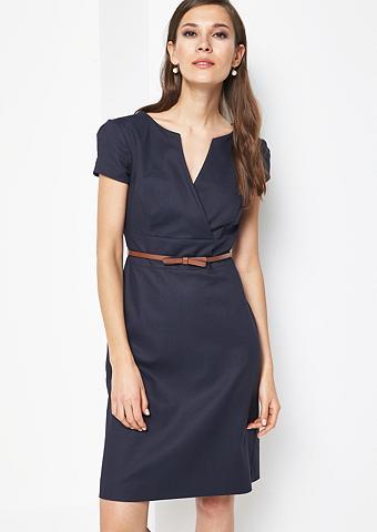 COMMA Smartes dalykinė suknelė su neįkyrus M...