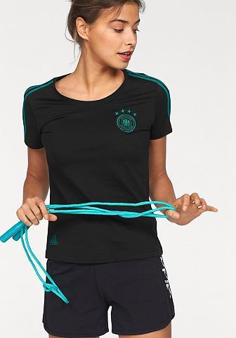 ADIDAS PERFORMANCE Marškinėliai »DFB WOMEN TEE«