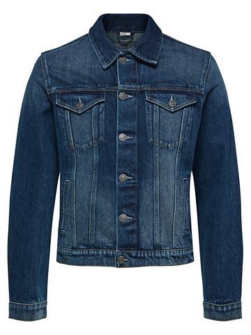 Klasikinio stiliaus džinsiniai marškin...