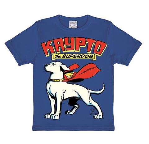 Marškinėliai su retro raštas »Superdog...