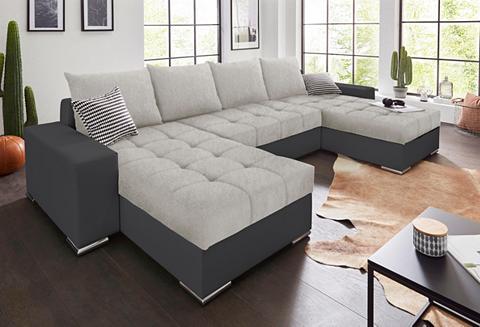 Sofa su 4 Dekoratyvinės pagalvėlės ir ...