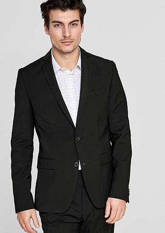 S.OLIVER BLACK LABEL Regular: Kostiuminis švarkas su vilnon...