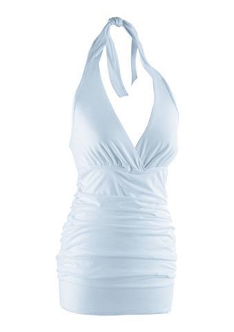 Aniston CASUAL Neckholdertop in attraktiver Farbpalet...