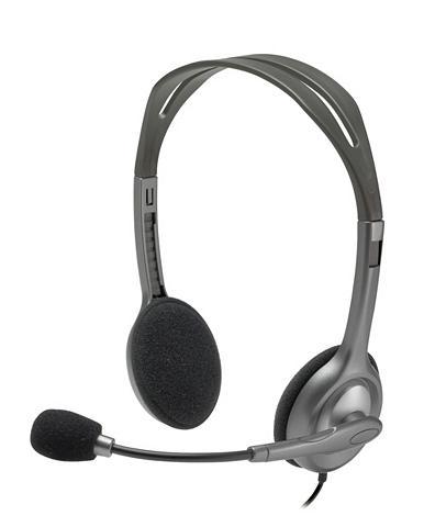 LOGITECH Ausinės »Stereo Ausinės H110 - 981-000...