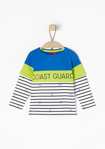 S.OLIVER RED LABEL JUNIOR Marškinėliai ilgomis rankovėmis im 2-i...