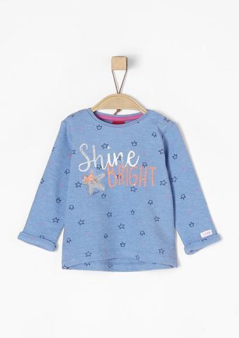 S.OLIVER RED LABEL JUNIOR Lengvas Artwork-Sweatshirt dėl Babys