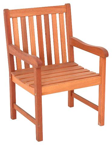 MERXX Sodo kėdė »Santos« Eukalyptusholz brau...