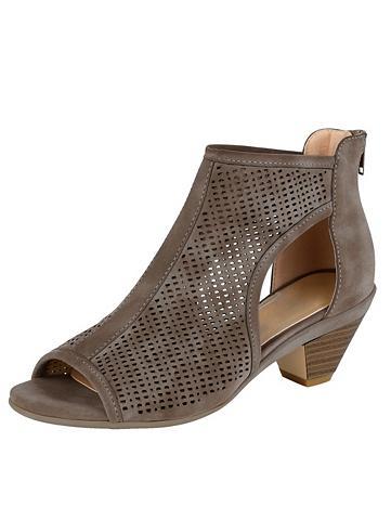 LIVA LOOP Liva Šalikas-mova sandalai su perforie...