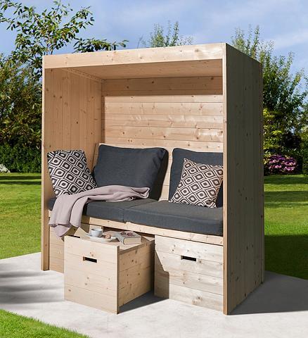 WEKA Rinkinys: poilsio baldai »Bozen« Sėdėj...