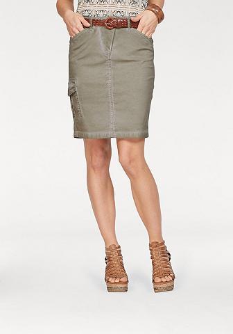 LAURA SCOTT Mini ilgio sijonas