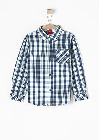 S.OLIVER RED LABEL JUNIOR Marškiniai su languotu raštu dėl Junge...