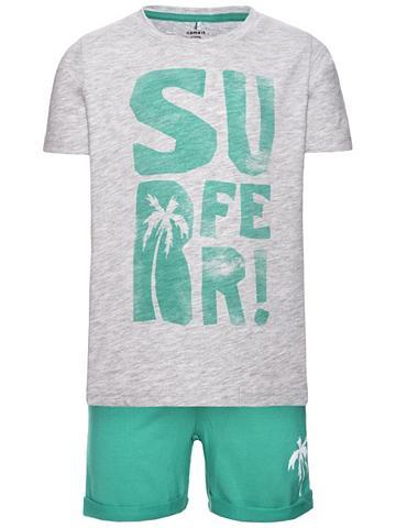 NAME IT Nitduncan Shorts-Set