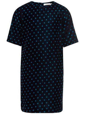 NAME IT Taškuotas Velours- suknelė