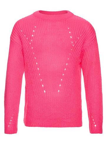 NAME IT Nitdineon neonpinkes megztinis