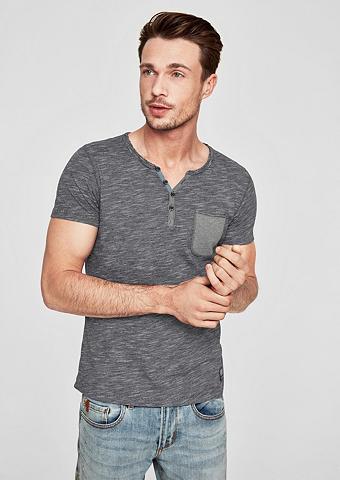 S.OLIVER RED LABEL Smulkus dryžuotas Marškinėliai