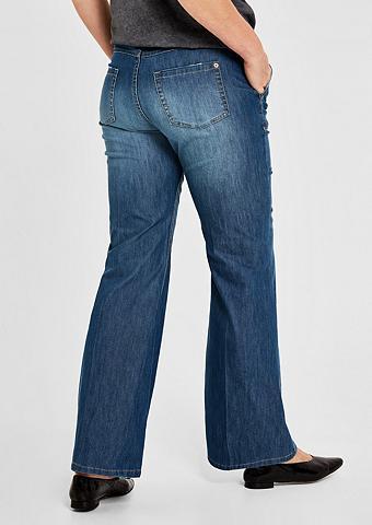TRIANGLE Curvy firma: Wide Leg-Jeans