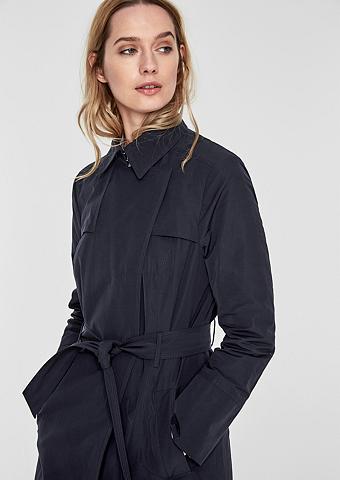 S.OLIVER BLACK LABEL Trumpas paltas im cleanen stilius