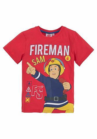 FEUERWEHRMANN SAM Marškinėliai »FIREMAN SAM«