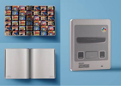 PALADONE Fanų atributika »Super Nintendo Notizb...