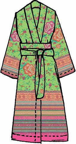 BASSETTI Kimono »Porticciolo«