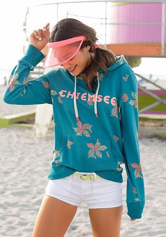 CHIEMSEE Sportinis megztinis su gobtuvu su pasi...