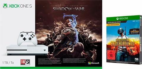 XBOX ONE S 1 TB (Shadow of War Konsolen Bundle ...
