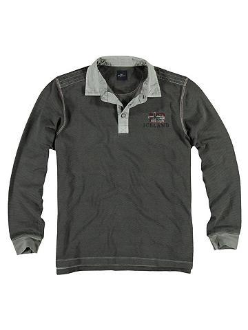 ENGBERS Polo marškinėliai Ilgomis rankovėmis m...