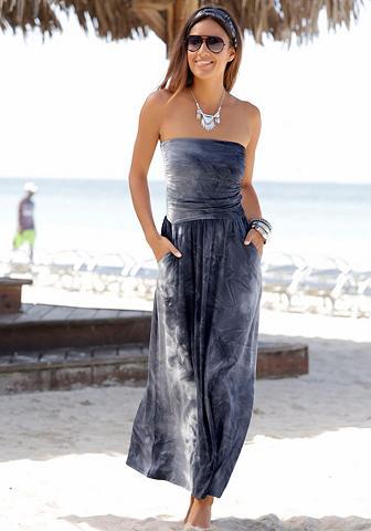 LASCANA Ilga suknelė su Batikdruck