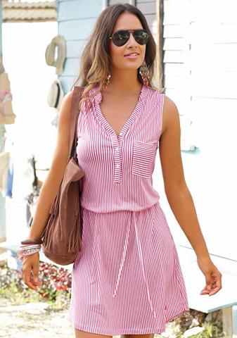 S.OLIVER RED LABEL Paplūdimio suknelė su surišamas diržas...