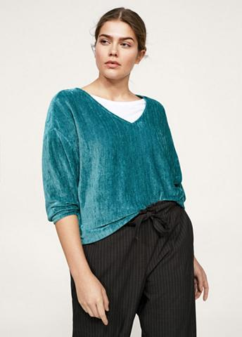 VIOLETA BY MANGO Sportinio stiliaus megztinis iš Chenil...