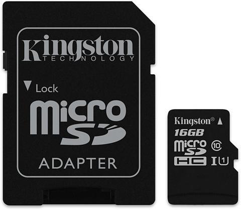 KINGSTON Atminties kortelė »micro SDHC Class 10...