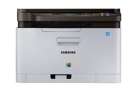 SAMSUNG SL-C480/TEG Color Laser MFP Spausdintu...