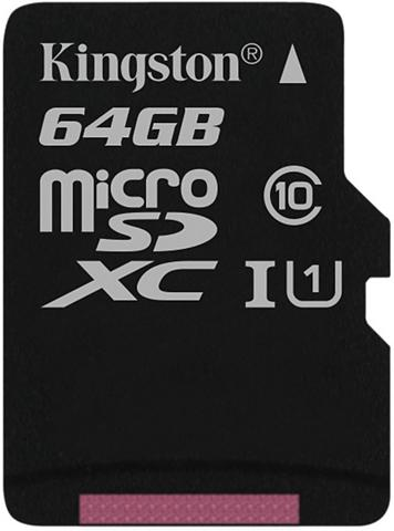 KINGSTON Atminties kortelė »microSDXC Class10 U...