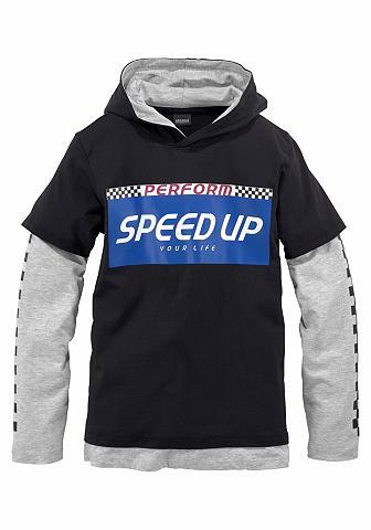 ARIZONA Marškinėliai su gobtuvu »Speed up«